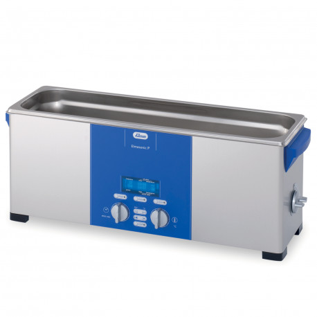 Cuve Ultrasons Nettoyage Analyse Double Fréquences 12,75 L Elmasonic P 120 H