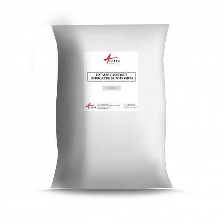 Potasse Caustique en Ecailles 90% - CAS 1310-58-3 - SAC 25KG
