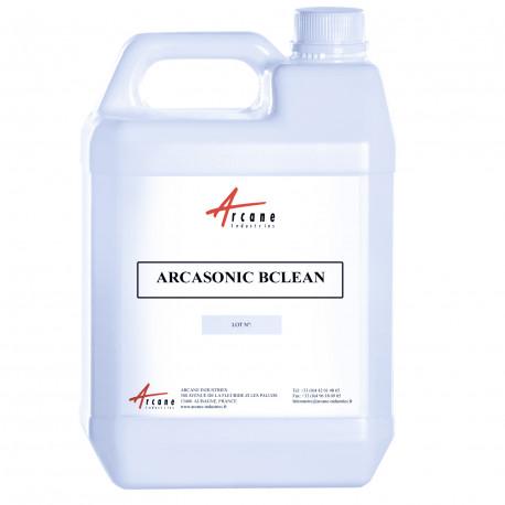 Détergent Alcalin Basique pour Acier Fonte Céramique Verre ARCASONIC BCLEAN Bidon 5L