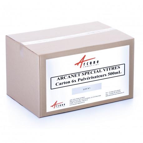 Nettoyant Spécial Surfaces Vitrées Carton 6x500mL