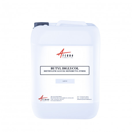 BUTYL DIGLYCOL Solvant diethylene glycol monobutyl ether Bidon 20L