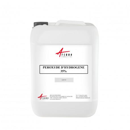 Eau oxygénée / peroxyde d'hydrogène 35 % Bidon 20L